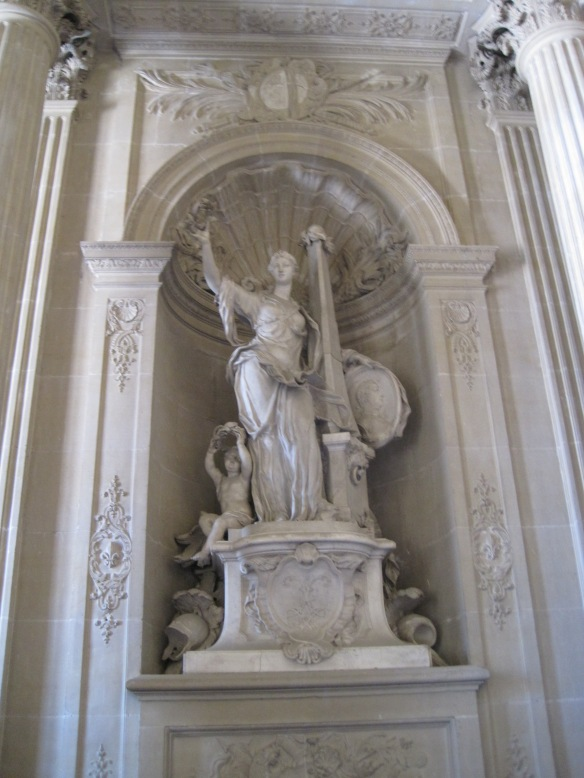 And heroic statue no. 2.
